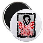 Hope Butterfly Melanoma Magnet