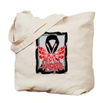 Hope Butterfly Melanoma Tote Bag