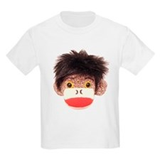 Sock Monkey Tommy Kids T-Shirt