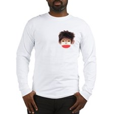 Sock Monkey Tommy Long Sleeve T-Shirt