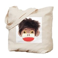 Sock Monkey Tommy Tote Bag