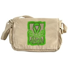 Hope Butterfly Lymphoma Messenger Bag