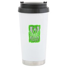 Hope Butterfly Lymphoma Travel Mug