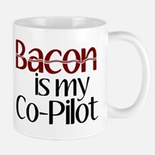 Bacon is my Co-Pilot Mug