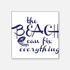 The Beach Can Fix Everything Sticker