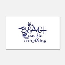 The Beach Can Fix Everything Car Magnet 20 x 12