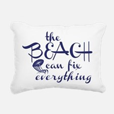 The Beach Can Fix Everything Rectangular Canvas Pi
