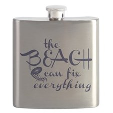 The Beach Can Fix Everything Flask
