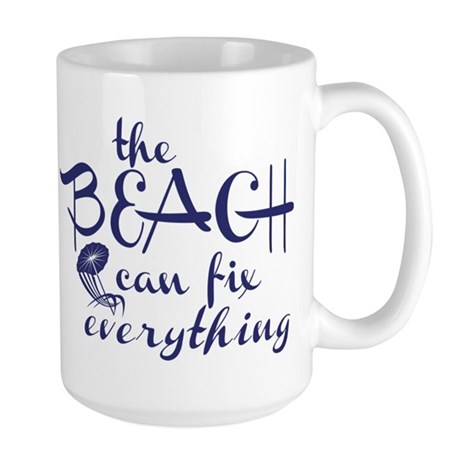 The Beach Can Fix Everything Mug
