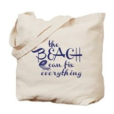 The Beach Can Fix Everything Tote Bag