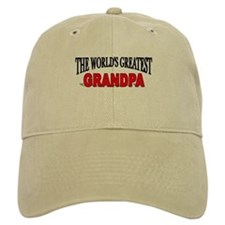"""The World's Greatest Grandpa"" Baseball Cap"