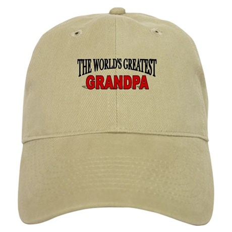 """The World's Greatest Grandpa"" Cap"