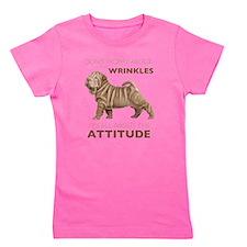 attitude.png Girl's Tee