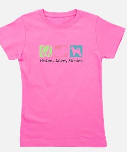 peacedogs.png Girl's Tee