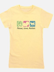 peacedogs.png Girl's Tee