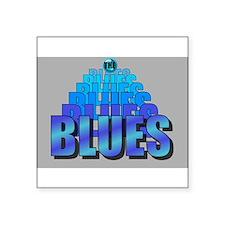 BLUES MUSIC BLUES Sticker