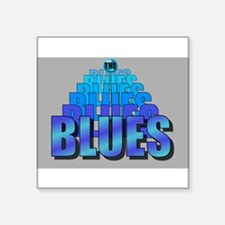 BLUES MUSIC BLUES Sticker