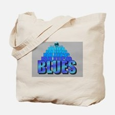 BLUES MUSIC BLUES Tote Bag
