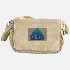 BLUES MUSIC BLUES Messenger Bag