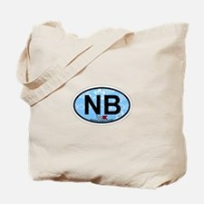 Navarre Beach - Oval Design Tote Bag