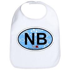 Navarre Beach - Oval Design Bib