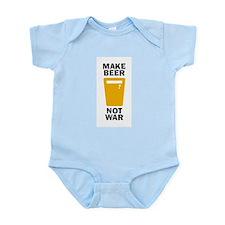 Make Beer Not War Body Suit