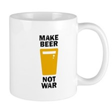 Make Beer Not War Small Small Mug