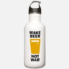 Make Beer Not War Water Bottle