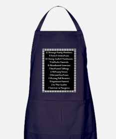 funeral proof 4 Apron (dark)