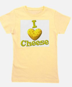 funny cute i heart love cheese cheesey heart Girl'