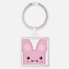 kawaii pink bunny.png Keychains