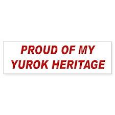 Yurok Heritage Pride Bumper Bumper Sticker