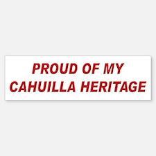 Cahuilla Heritage Pride Bumper Bumper Bumper Sticker
