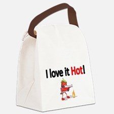 I love it Hot! Canvas Lunch Bag