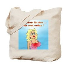 Who Needs College? Tote Bag