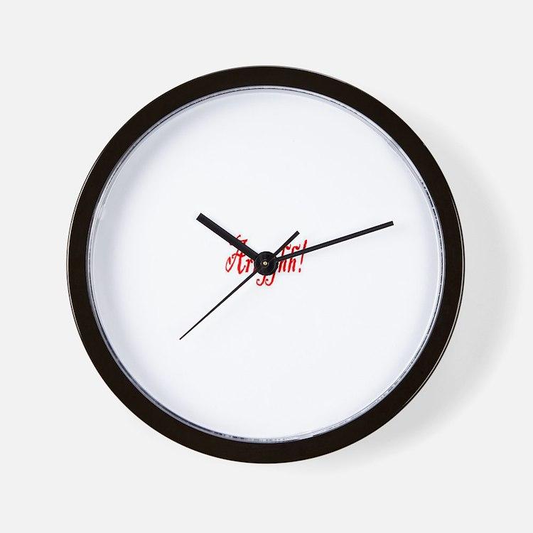pirate wear Wall Clock