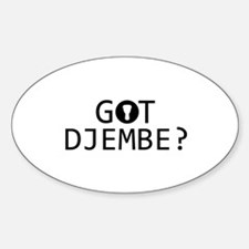 Got Djembe musical designs Decal