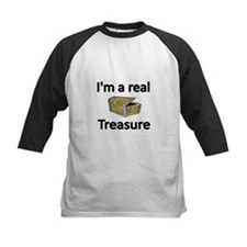 Im a rea; Treasure Baseball Jersey