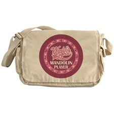 Worlds Best Mandolin Player Messenger Bag