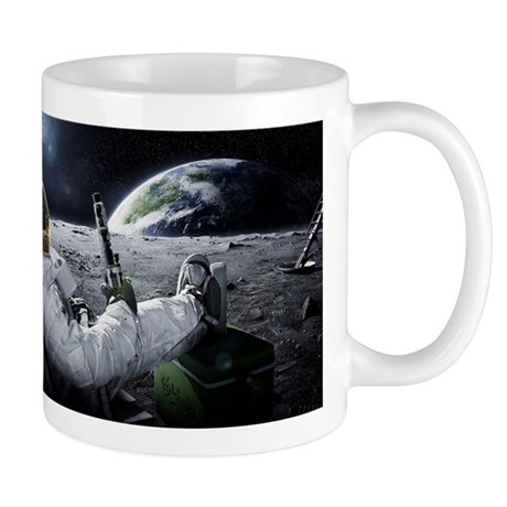 the world at large Mug
