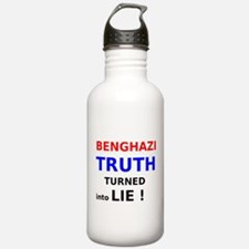 Benghazi Truth Turned into Lie Water Bottle