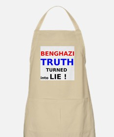 Benghazi Truth Turned into Lie Apron