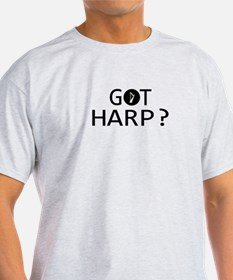 Got Harp musical designs T-Shirt