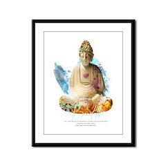 Buddha Framed Panel Print