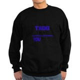 Its a trini thing Sweatshirt (dark)