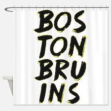 Boston Bruins Shower Curtain