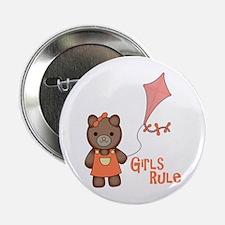 "Girls Rule 2.25"" Button"
