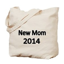 New Mom 2014-black Tote Bag