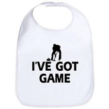 I've got game Curling designs Bib