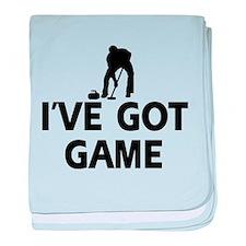 I've got game Curling designs baby blanket